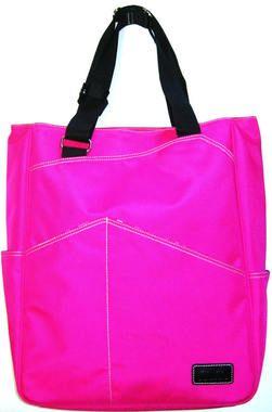 Maggie Mather Fuchsia Tennis Tote Bag