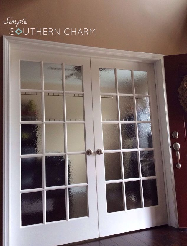 Attractive Diy Stained Glass Privacy Doors Windows, Diy, Doors, Window Treatments,  Windows