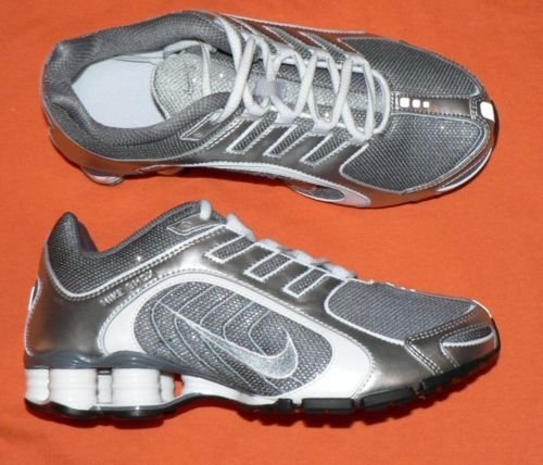 huge discount a149a 9fbec I want these shoes but I can t find them in my size - Womens Nike Shox  Navina Gray Sparkle