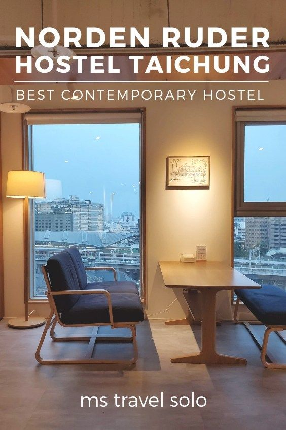Norden Ruder Hostel Taichung: Best Minimalist Contemporary Hostel