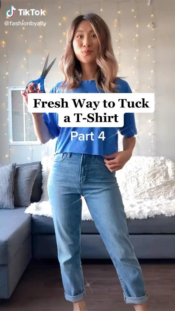 How to Style a T-Shirt