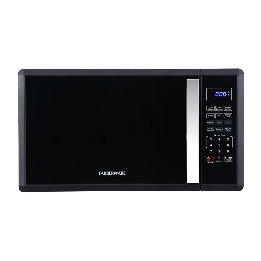 Lowes Countertop Microwaves Profile 2 1 Cu Ft Over The Range Microwave In Black Slate With