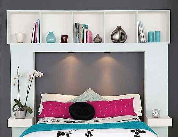 tete de lit rangement fly  chambremaison  Pinterest