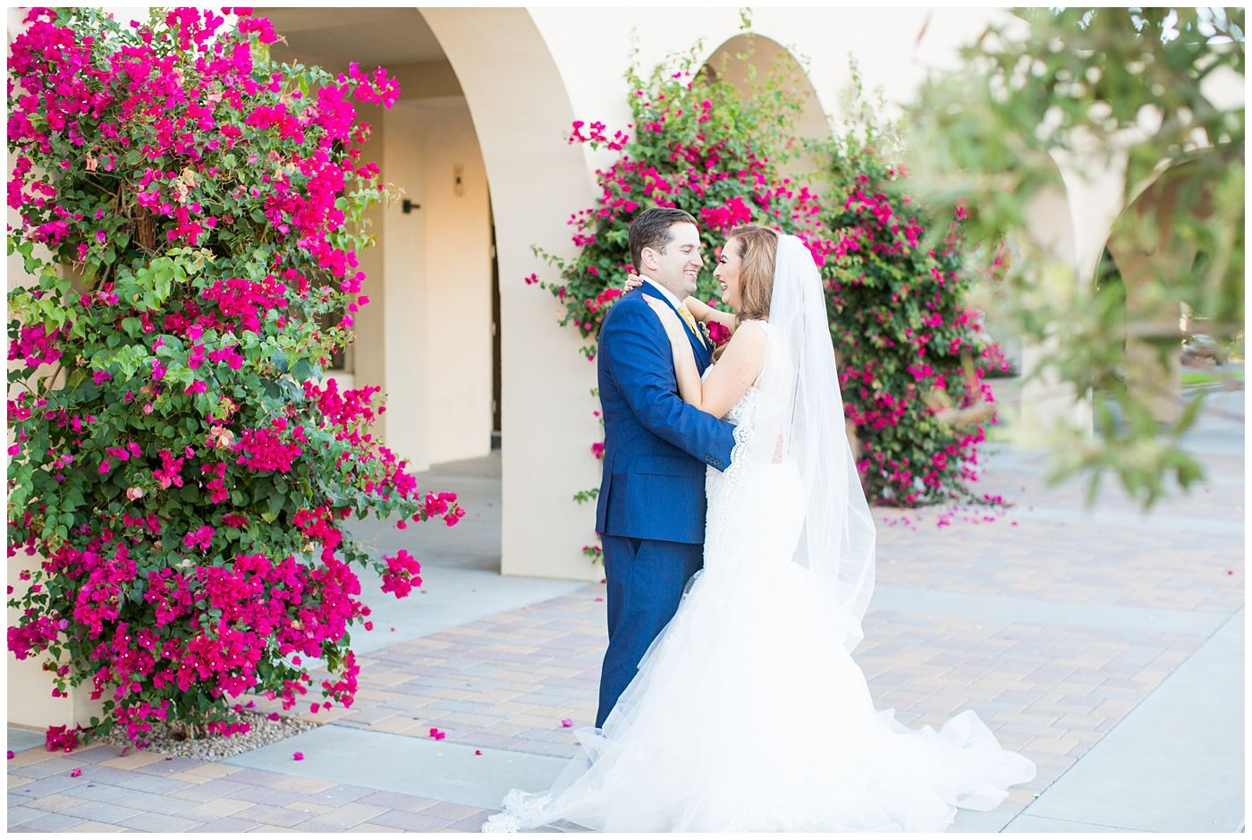 Luxurious wedding at private residence in scottsdale dusty bride