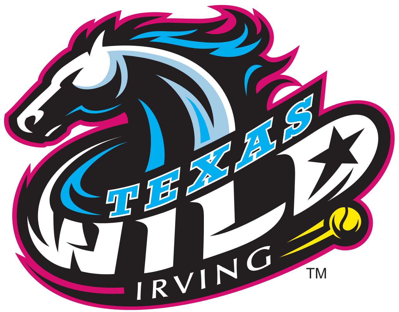 Texas Wild, World Team Tennis, Irving, TX Logo design