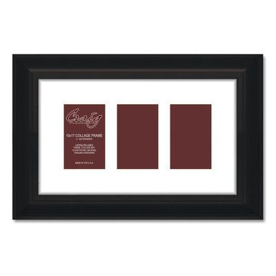 Craig Frames Inc. 581Collage 3 Photograph Picture Frame Size: 4\
