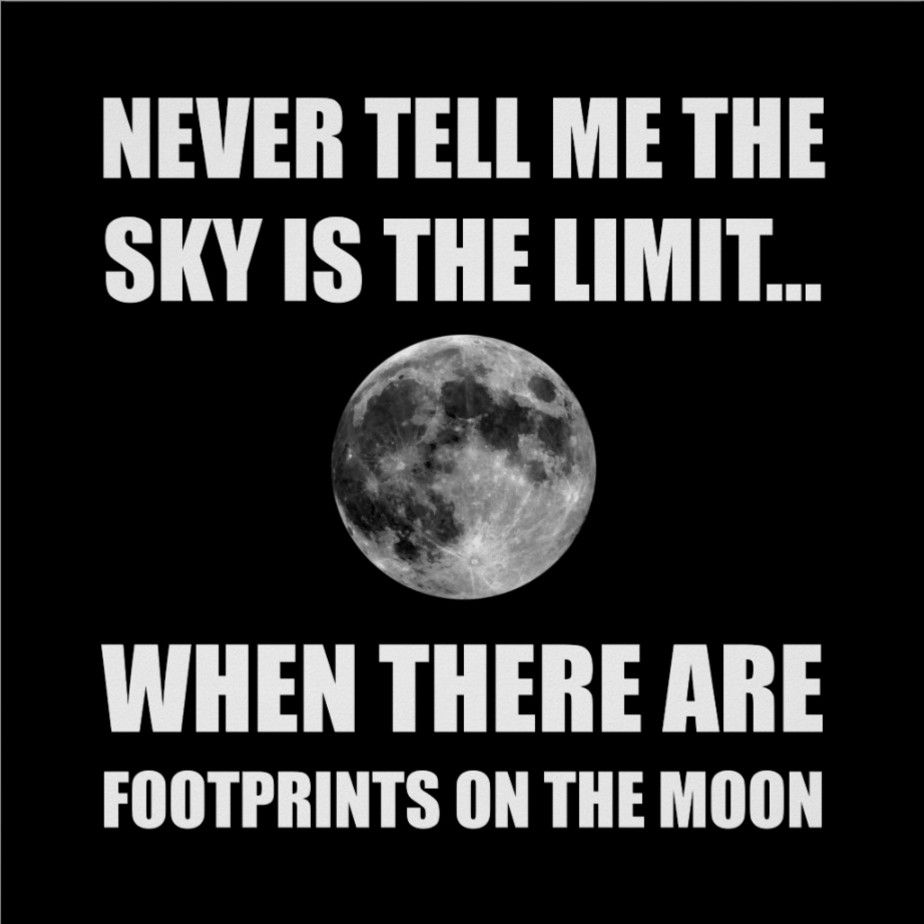 Footprints On The Moon Poster Zazzle Com Funny Quotes Moon Poster Limit Quotes