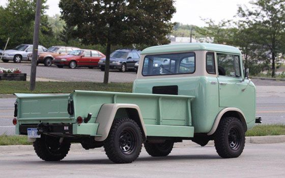 1960 Willys Jeep Fc 170 Like The Longbed Blend Van Zone