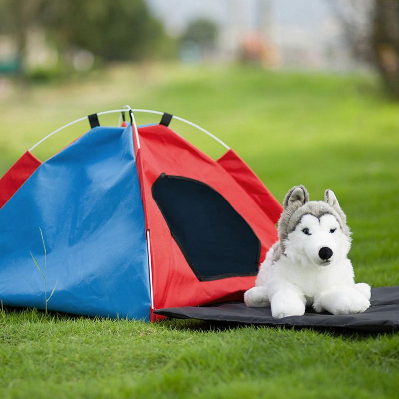 1PC Pet Dog Cat Fences & Exercise Pens New Folding Tent Package Pet Dog Kennel Oxford Cloth Tent Outdoor Dog Supplies