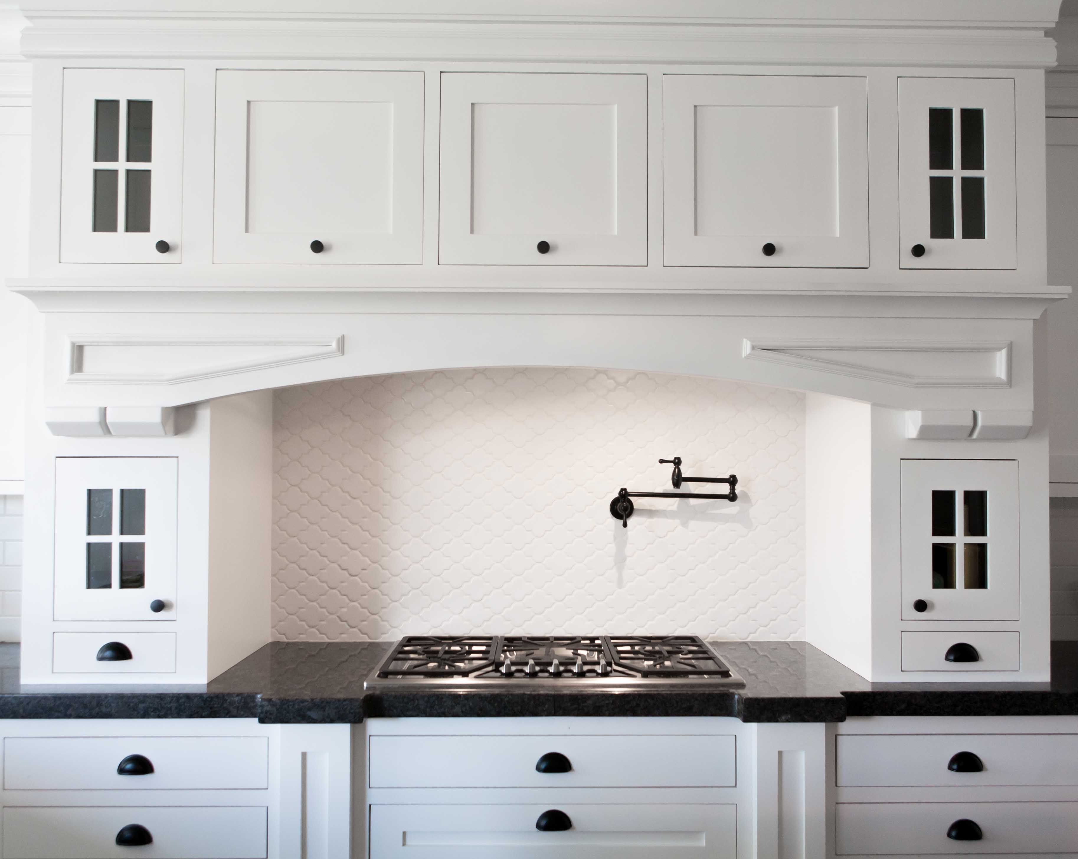 The cabinet fronts are called Shaker Style which is a