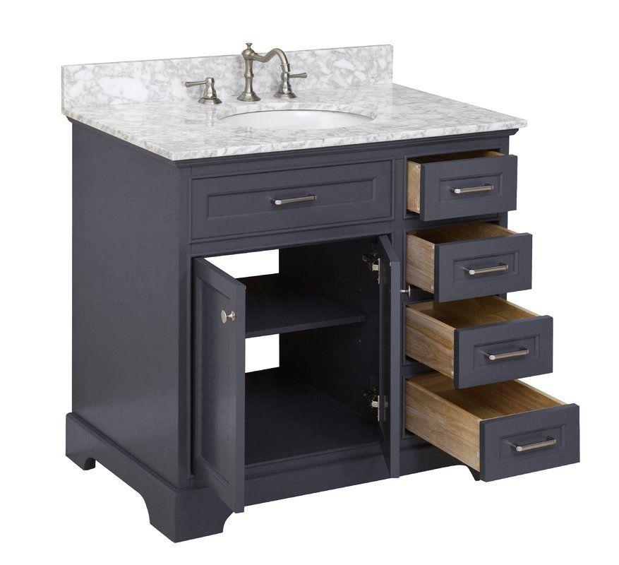 Kbc Aria 36 Single Bathroom Vanity Set Reviews Wayfair With