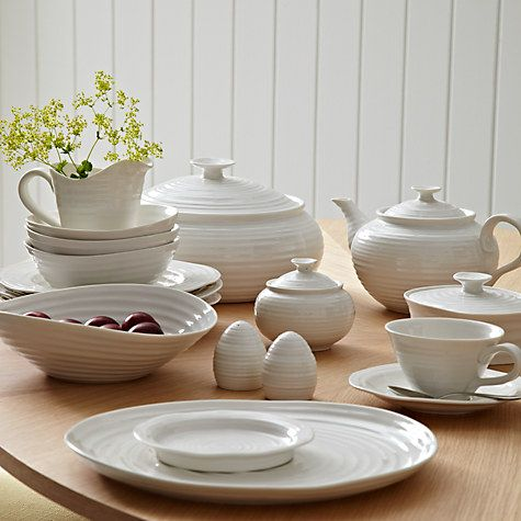 Portmeirion Sophie Conran White Small Salad Bowl