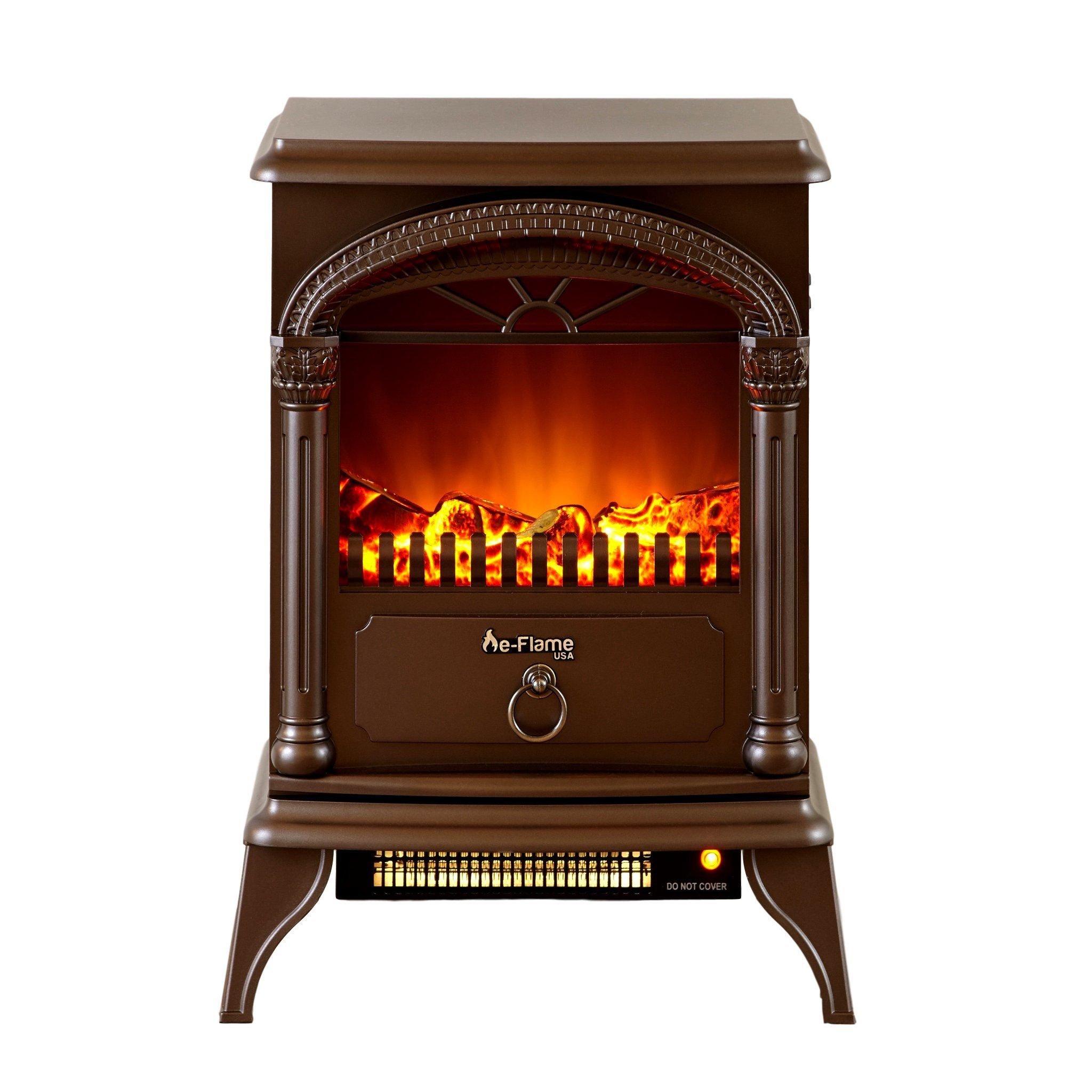 Hamilton Portable Electric Fireplace Stove by eFlame USA