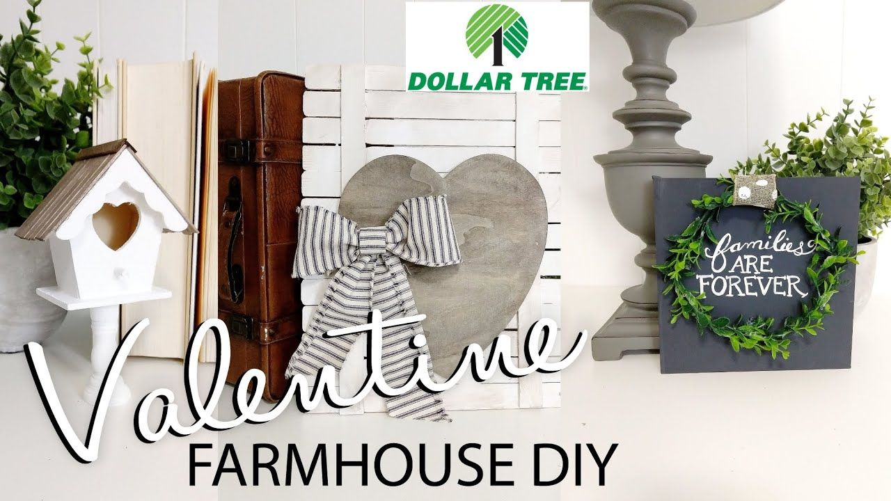Dollar Tree DIY Valentine 2020 Farmhouse Valentine DIYs