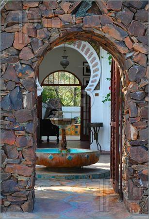 Moroccan doorway. www.asilahventures.com