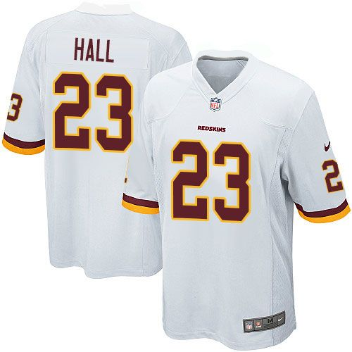 New Nike Game DeAngelo Hall White Youth Jersey Washington Redskins #23