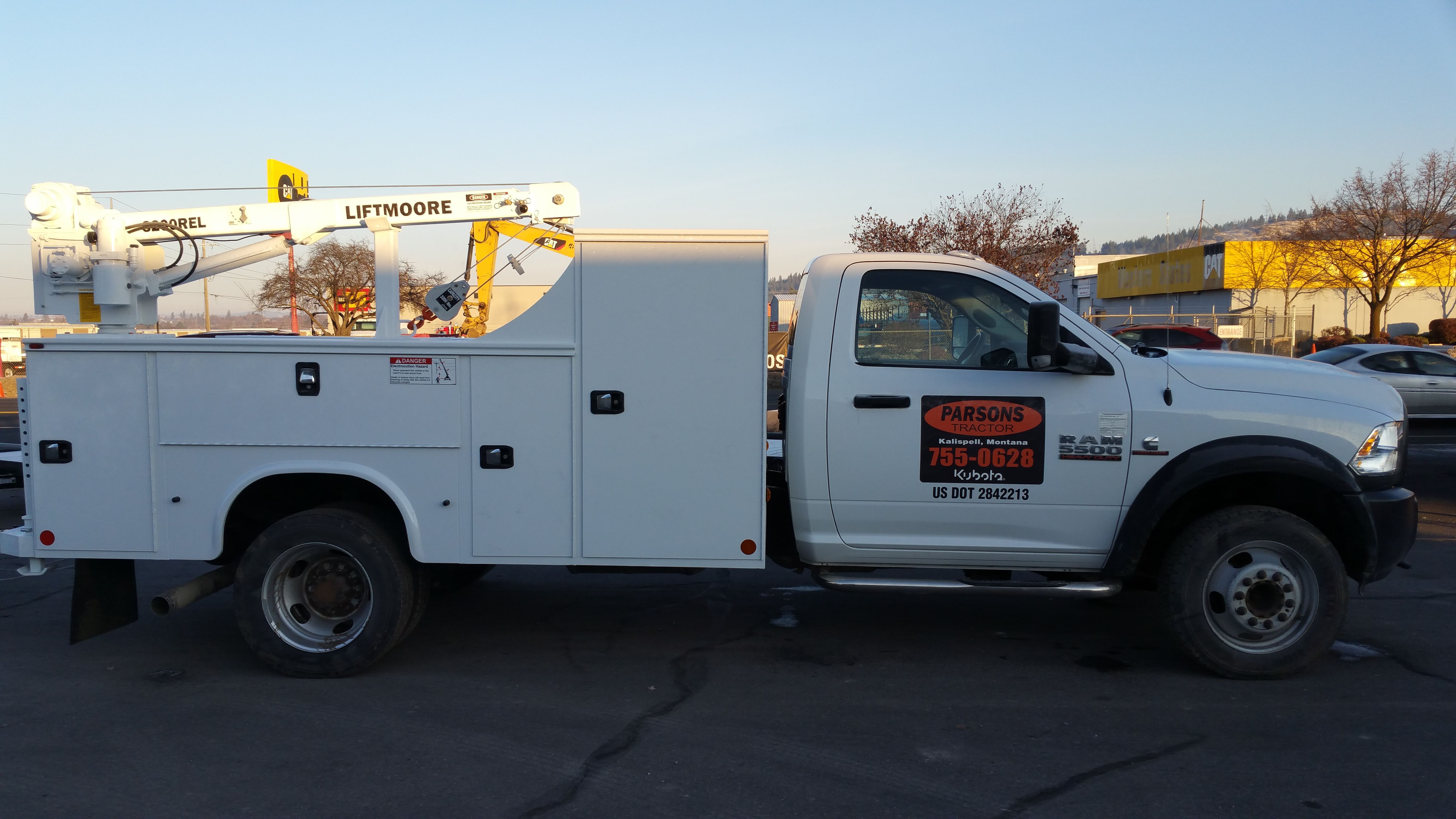 This Knapheide service body just came out of our Spokane