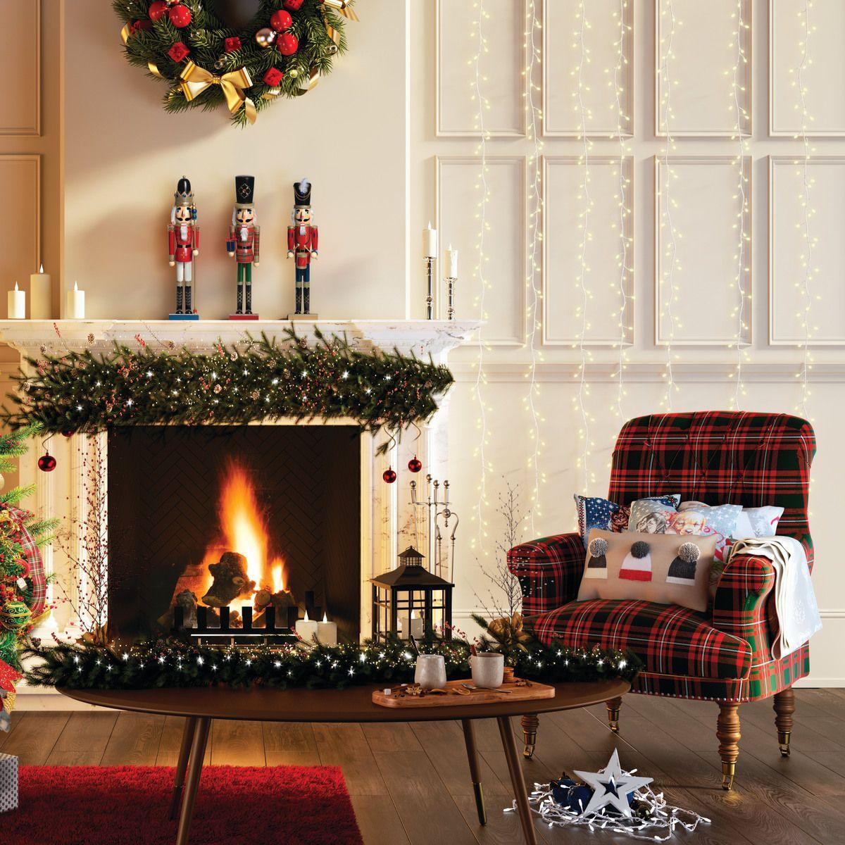 Addobbi Natalizi Leroy Merlin.In Legno H 38 Cm L 10 Cm X P 10 Cm Prezzo Online Leroy Merlin Schiaccianoci Natale Natale Decorazioni