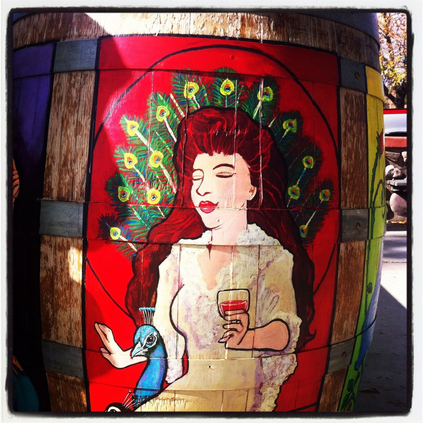 Painted Barrels On The Verde Valley Wine Trail Arizona Wineries Wine Trail Northern Arizona