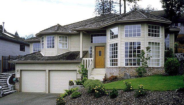 Fachada de casas americanas casa modelos de janelas for Modelos de casas americanas