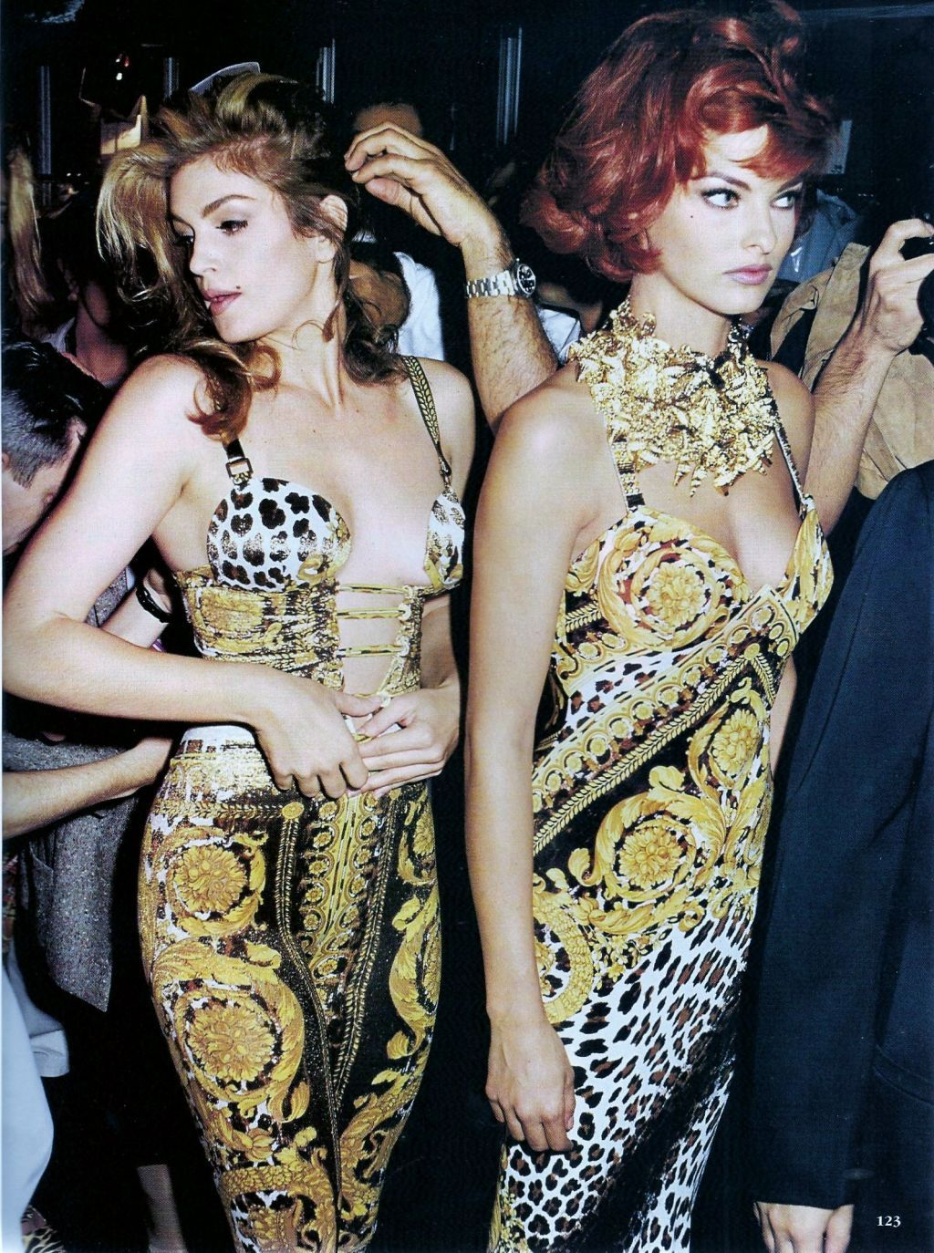 Versace S S 1992 Photographer Frederic Andrieu Models Cindy