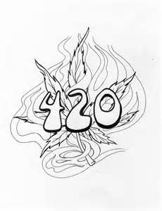 420 Coloring Pages