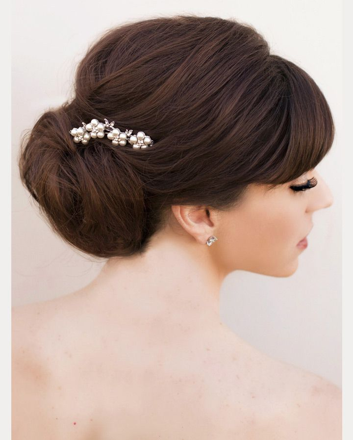 Wedding Hairstyle With Bangs: 40 Beautiful Brides With Bangs