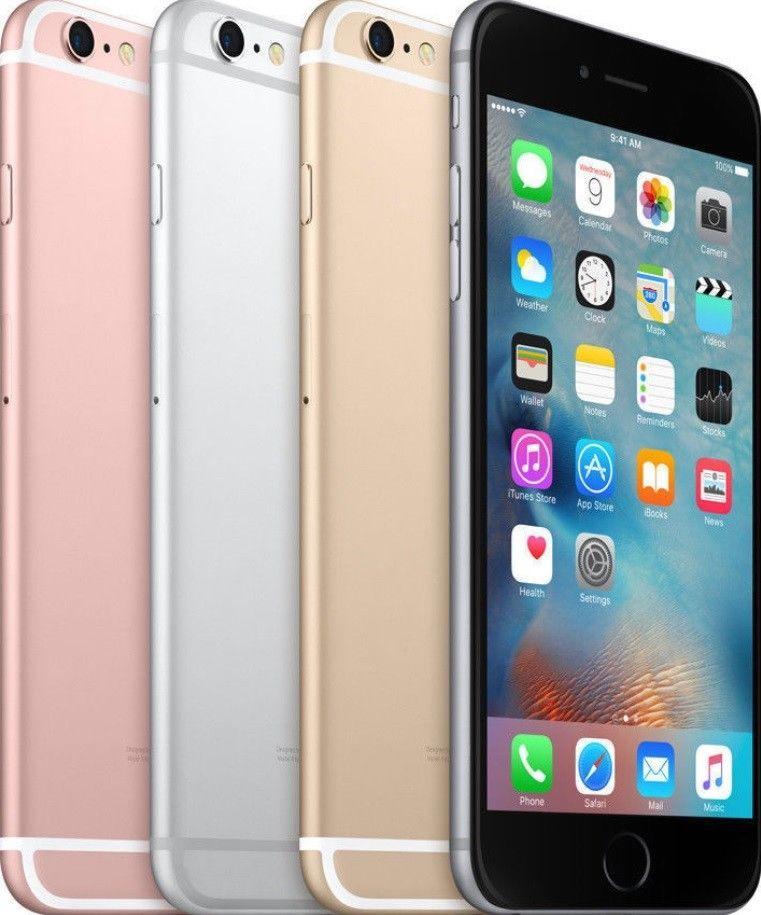 Apple Iphone 6s Plus 16gb 64gb 128gb Gsm Factory Unlocked Smartphone Phone Ebay Apple Iphone 6s Plus Iphone Apple Iphone 6s