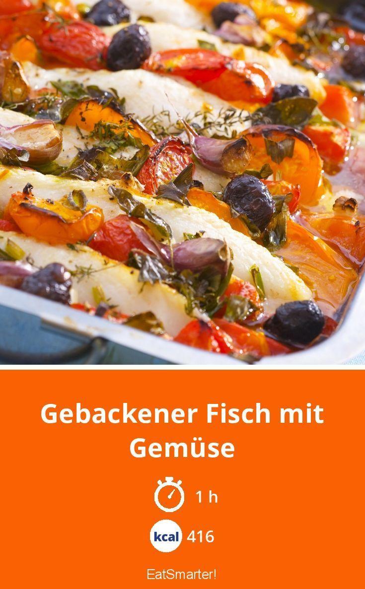 Photo of Gebackener Fisch mit Gemüse