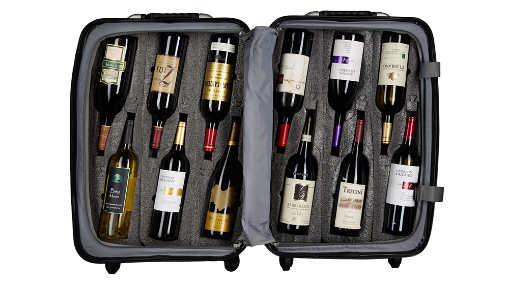 This Carry On Case Is Designed To Cradle 12 Bottles Of Your Favorite Wine In 2020 Wine Travel Case Fine Wine Wine