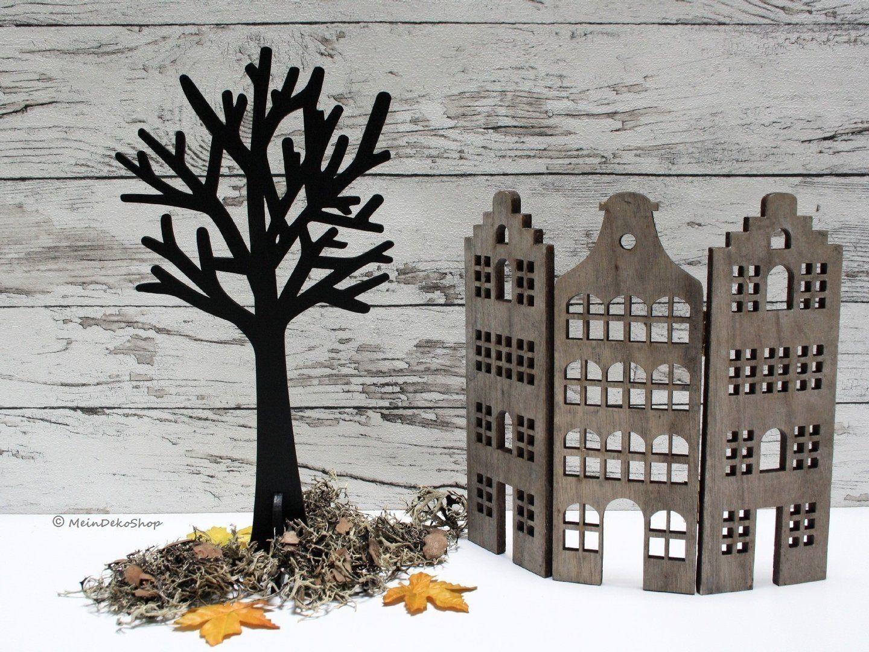 Baum äste Deko deko baum holz schwarz 30cm dekobaum aus schwarz lackiertem holz