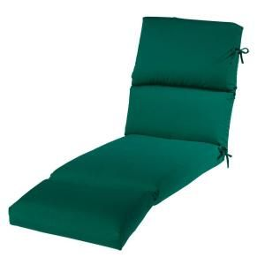 Home Decorators Collection Sunbrella Forest Green Outdoor Chaise