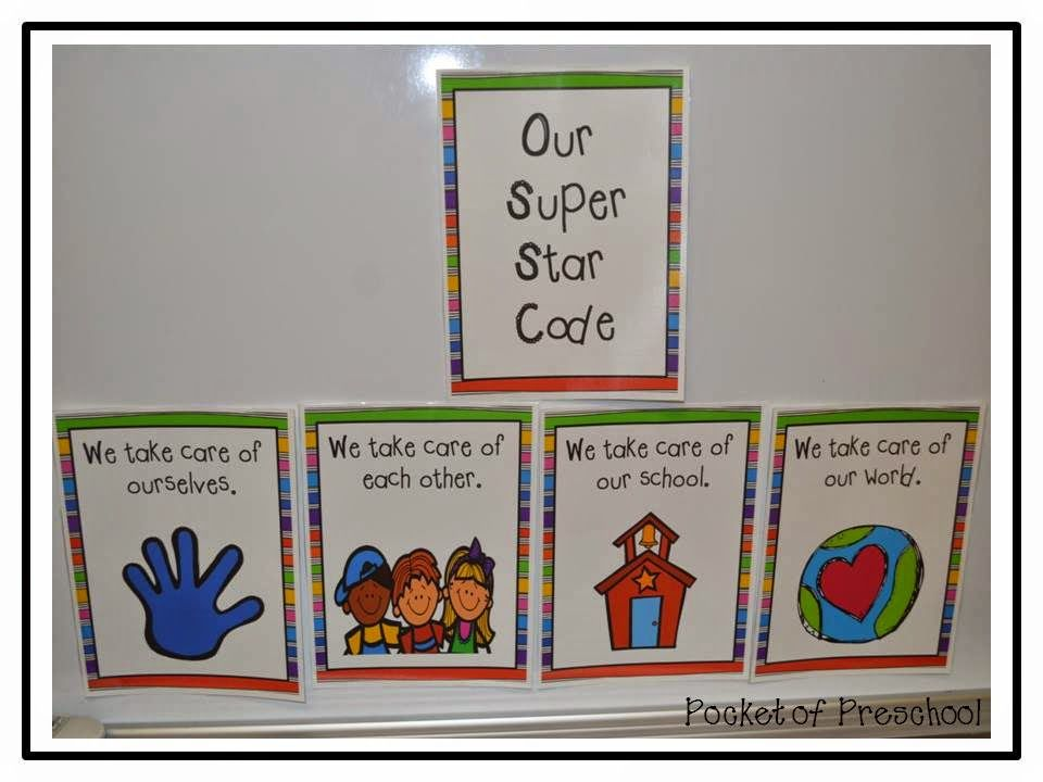Classroom rules for preschool are simple and developmentally appropriate. Pocket of Preschool