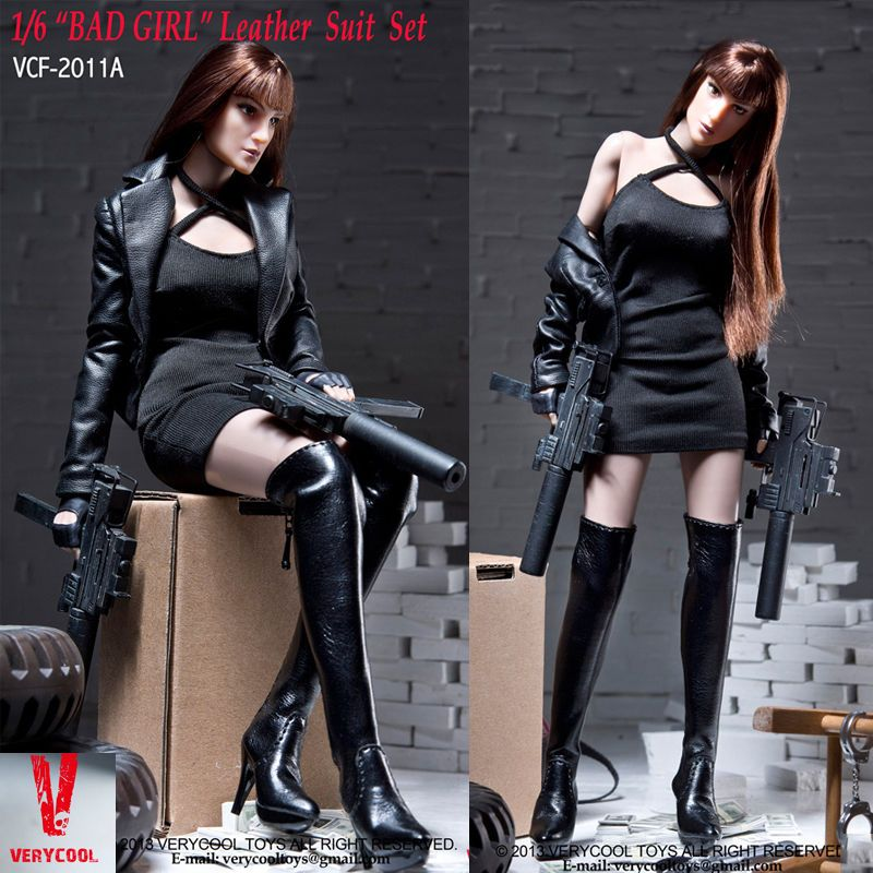 """Bad Toys For Girls : Hot figure toys verycool """"bad girl leather suit set a"""