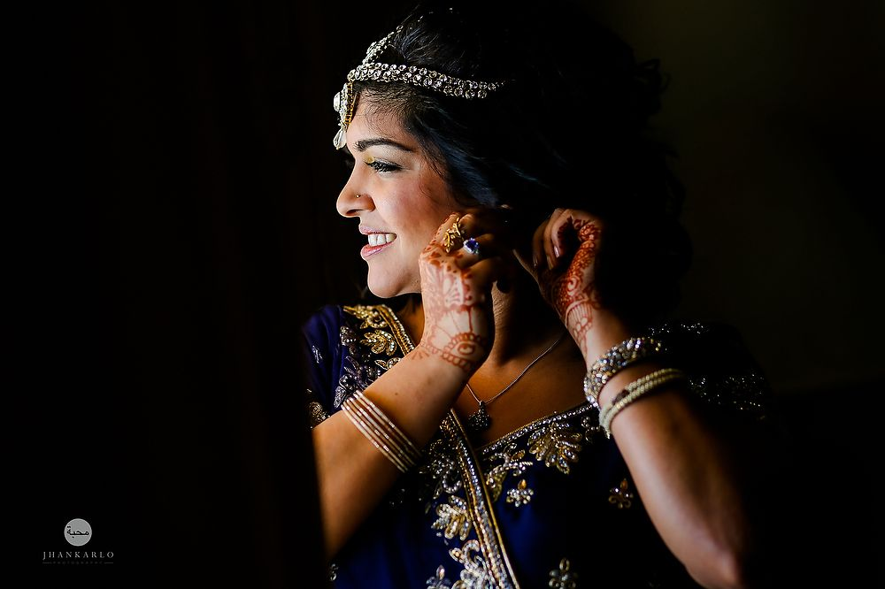 Radiant Bride Wedding Video Photography: Radiant Indian Bride. Getting Ready For Her Big Day