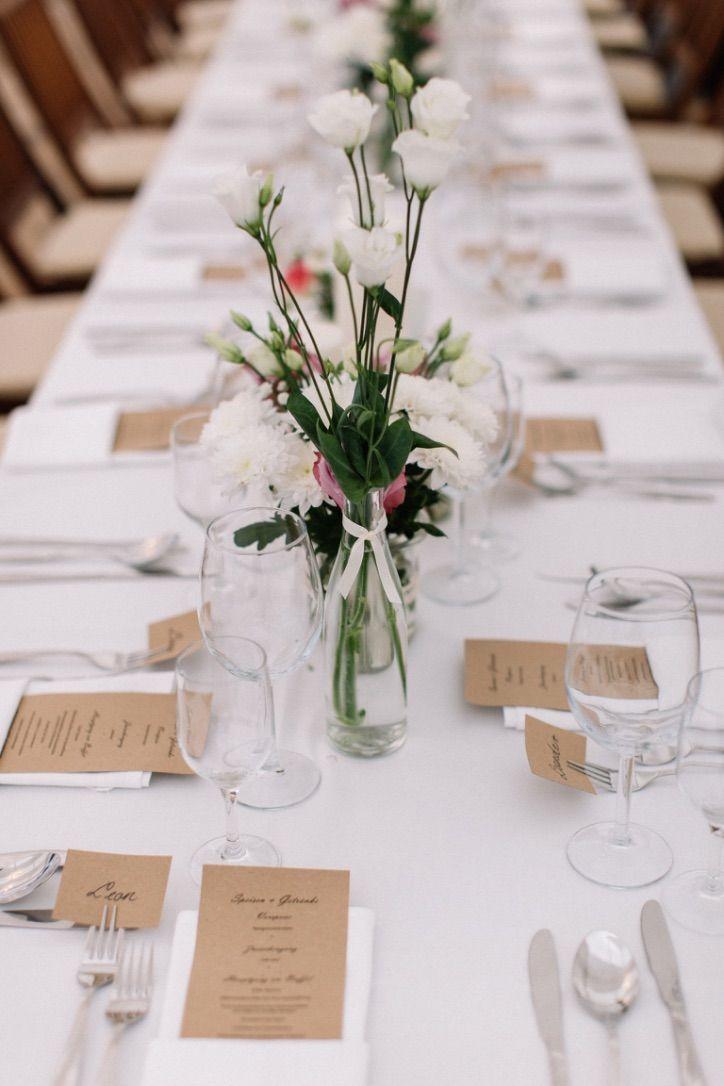 Schoner Heiraten Rustikale Tischdeko Mit Baumscheiben Casa Di
