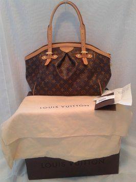 64cec2760701 Louis Vuitton Tivoli Gm Monogram Canvas and Leather Satchel 29% off ...