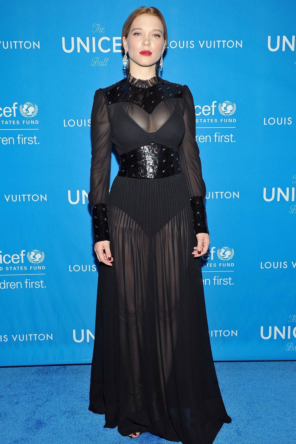Бал UNICEF в Лос-Анджелесе   Мода   Выход в свет   VOGUE