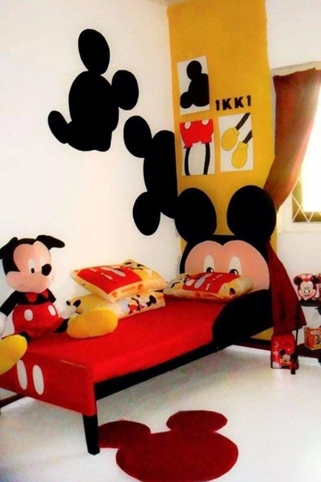 fc14fd3e04 Decoração de Quartos Infantis do Mickey e da Minnie!