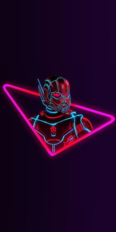 Neon Ant Man Wallpaper Marvel Artwork Marvel Avengers Marvel Superheroes