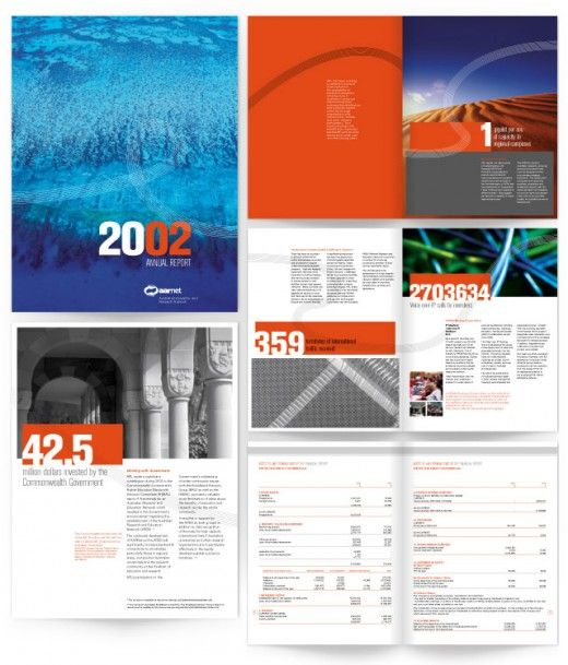 Layout Graphic Design Inspiration: The Best Annual Report Design Ideas Of 2010