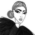 #fashionillustration by nat van #instagram