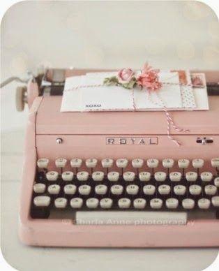 #Vintage Máquina de Escrever