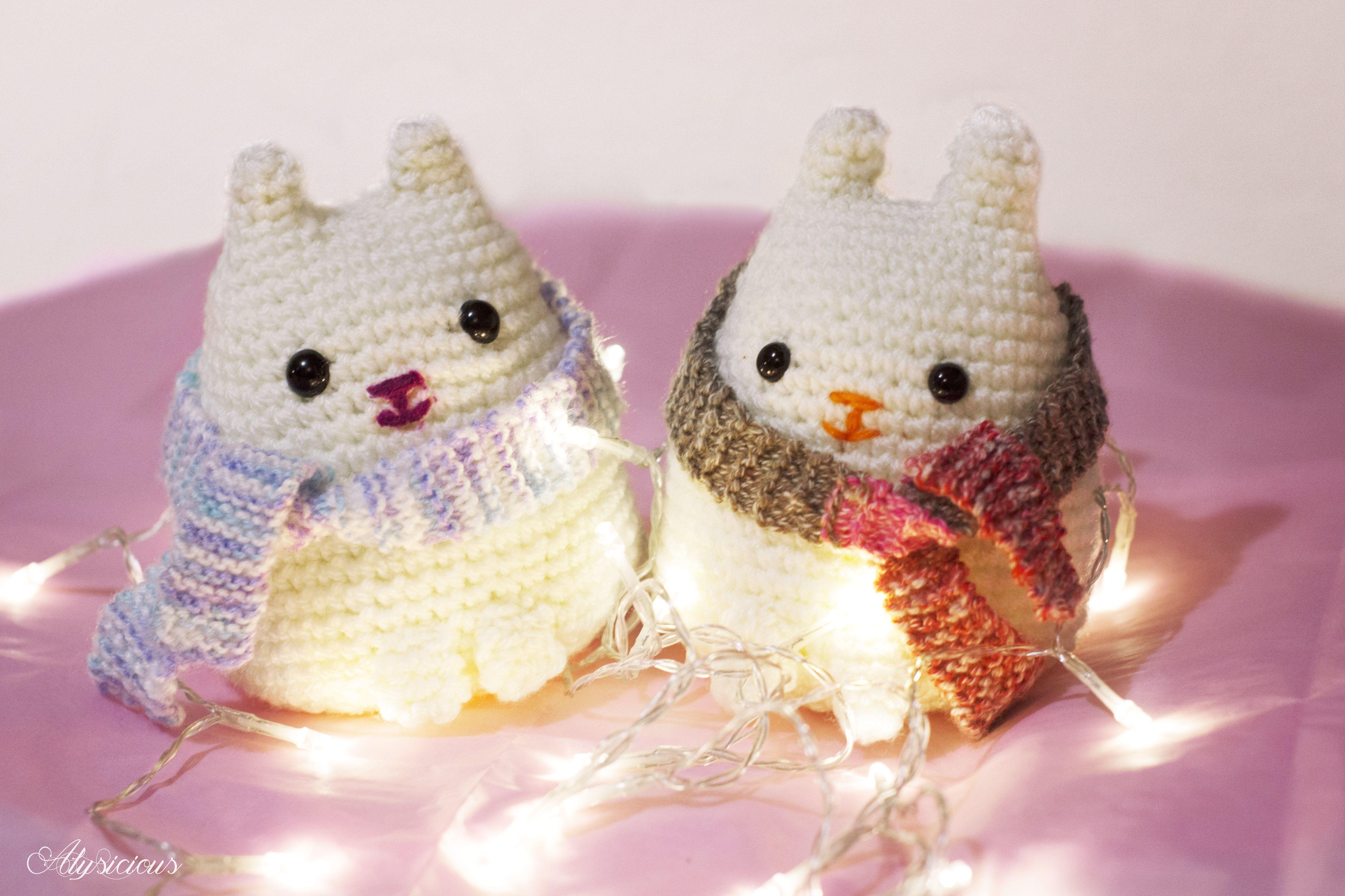 Crochet Dumpling Kitty [Free Pattern] | Crochet cat pattern ... | 3456x5184