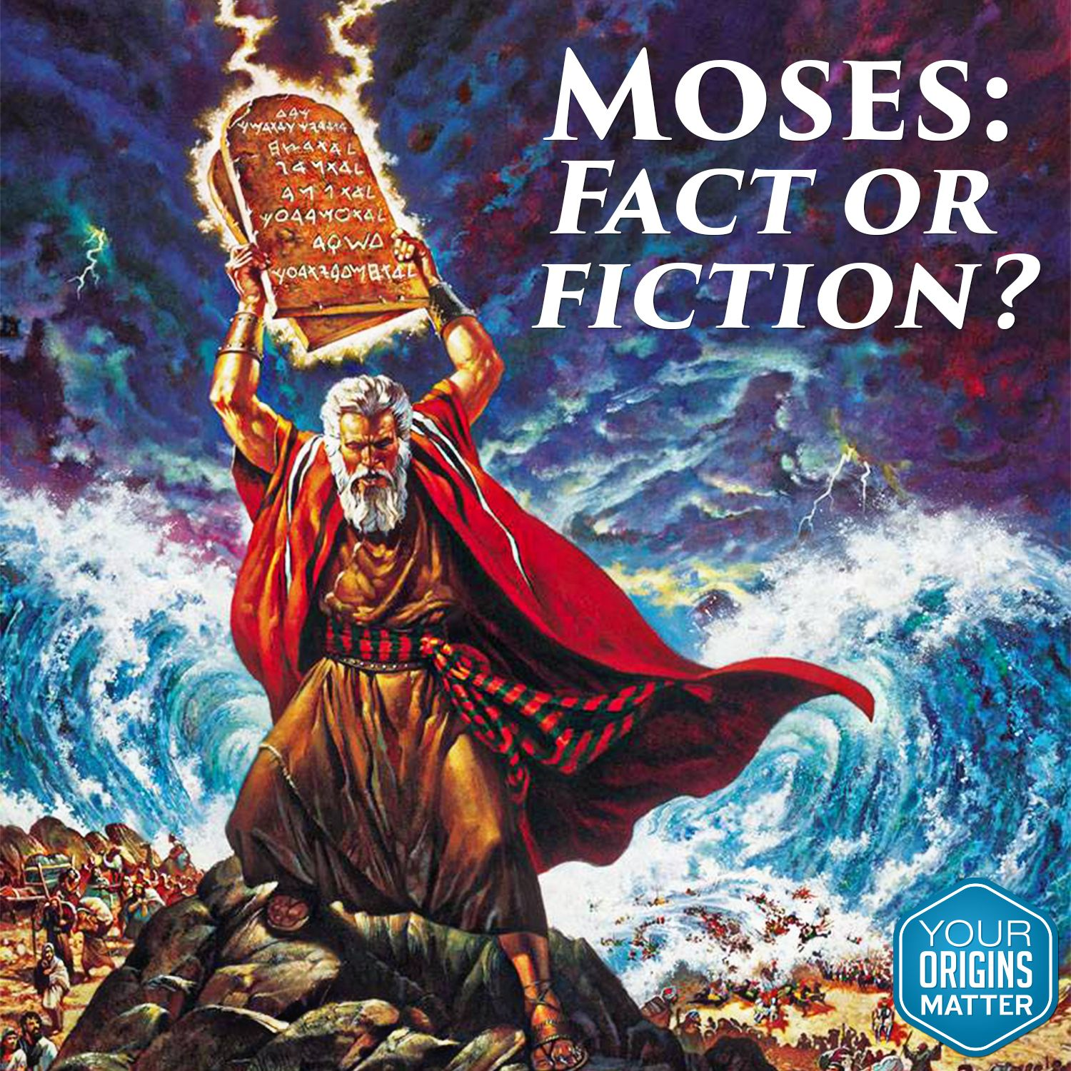 #Moses: Does it matter if he was a real, historical person?  #Exodus #Bible #worldview  Listen to Albert Mohler today on #TheBriefing.