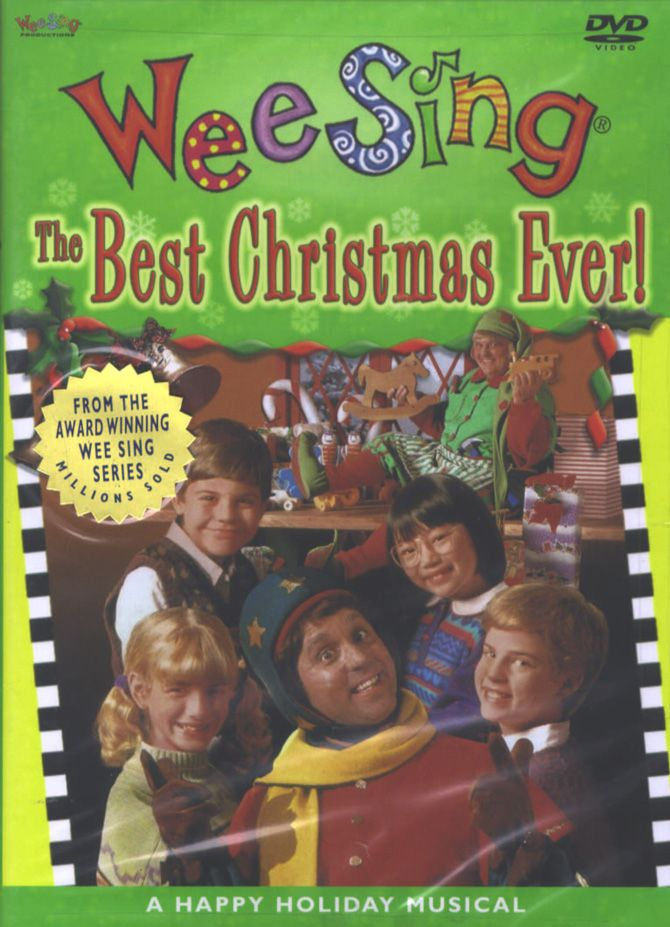wee sing best christmas ever dvd good cheer from wee sing as the kids take an enchanting trip to the north pole helping santas elves create the best - Wee Sing The Best Christmas Ever