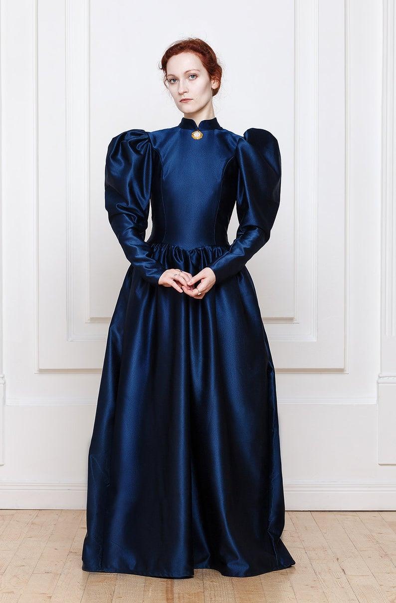 1890s Victorian Dress Etsy Victorian Dress Dresses Fashion [ 1209 x 794 Pixel ]