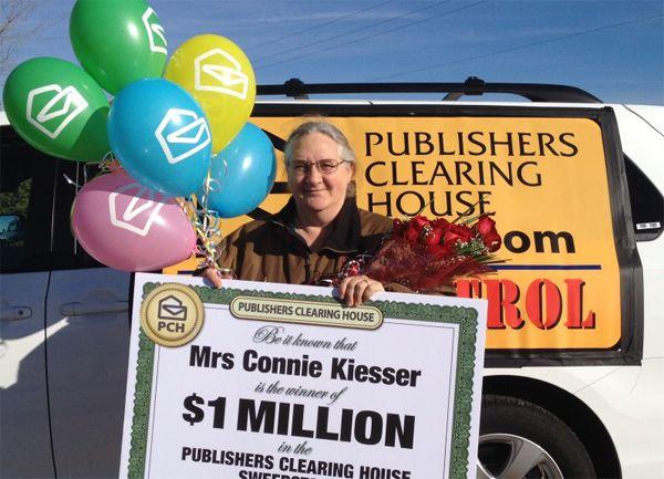 PCH Winner Connie Kiesser [Tony Casillas] | Winners board | Big, Finals
