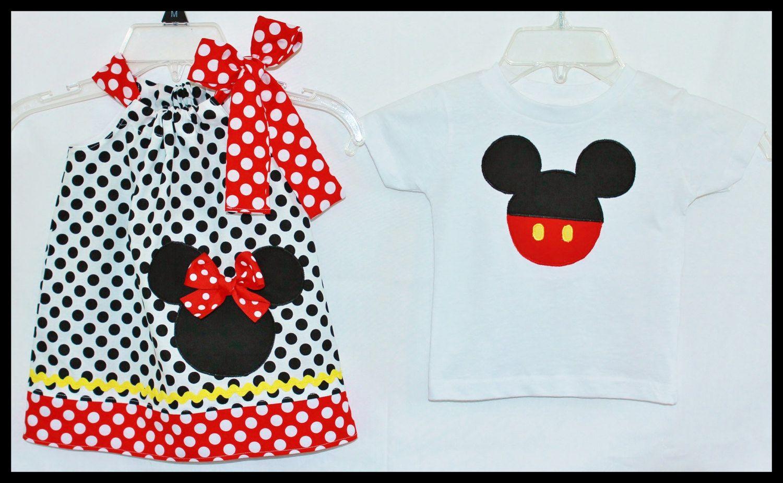 NEW Super Cute Minnie Mickey Disney by LilBitofWhimsyCoutur, $39.00