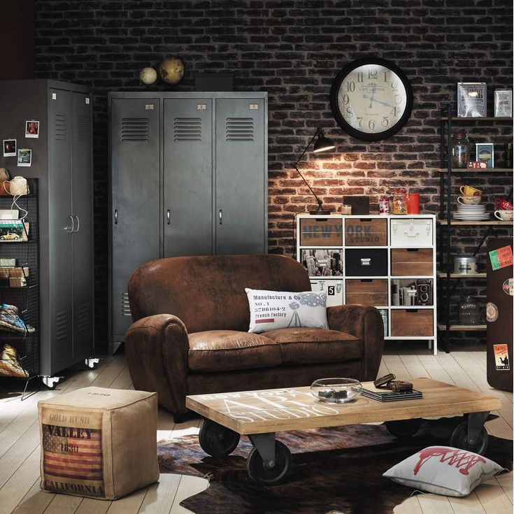 maisons du monde inspirational catalogue home pinterest industrial house home decor et. Black Bedroom Furniture Sets. Home Design Ideas